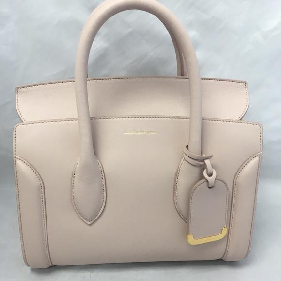 f6cfa499f282 Alexander McQueen Bags | Heroine Small Calf Leather Tote | Poshmark